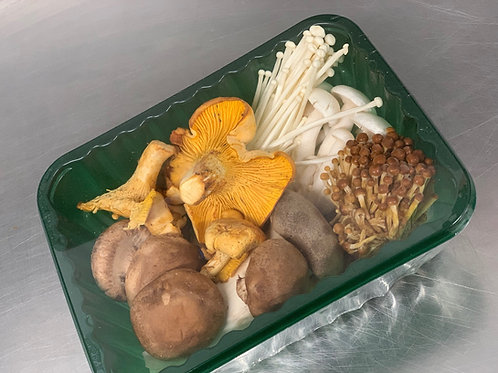 MIXED EXOTIC WILD MUSHROOMS 500gr PUNNETS