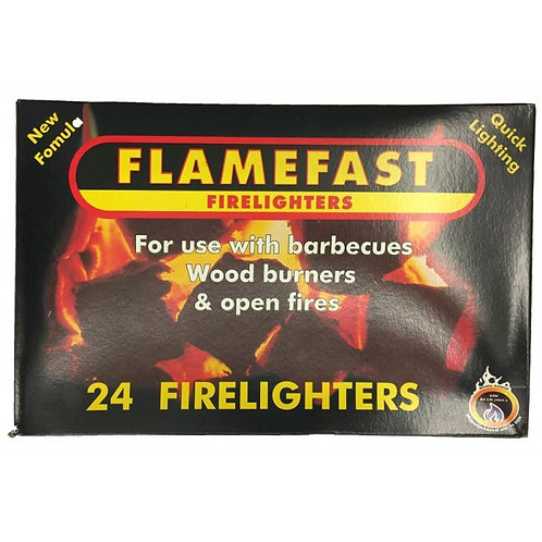 FLAMEFAST 24 FIRELIGHTERS