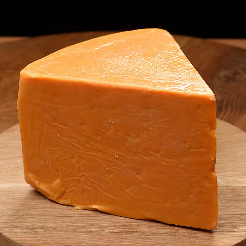 BRITISH RED LEICESTER CHEESE 200gr PIECES