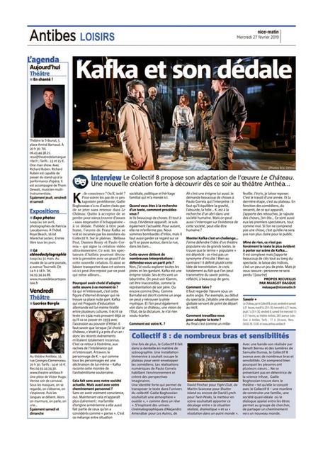LE CHATEAU - INTERVIEW