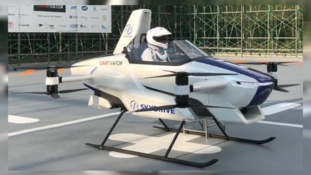 Kauna-Unahang 'Flying Car', Inilunsad sa Japan