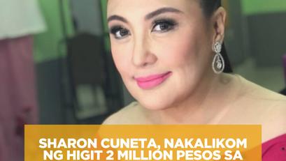 Sharon Cuneta, Nakalikom ng Higit 2 Million Pesos sa Virtual Concert