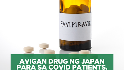 Avigan Drug ng Japan Para sa COVID Patients, Gagamtin ng DOH!