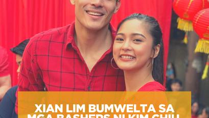 Xian Lim Bumwelta sa mga Bashers ni Kim Chiu
