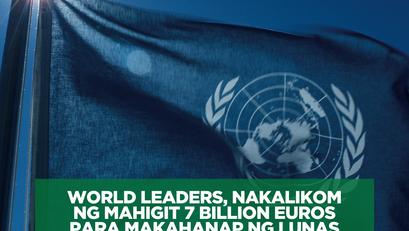 World Leaders, Nakalikom ng Mahigit 7 Billion Euros Para Makahanap ng Lunas sa COVID-19