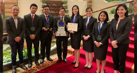 UP College of Law, Kampiyon sa isang Moot Court Competition sa South Africa