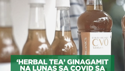 'Herbal Tea' Ginagamit na Lunas sa COVID sa Madagascar