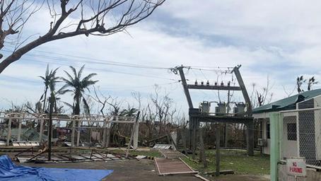 90 Porsyento ng mga Imprastraktura sa Catanduanes Sinalanta ng Bagyong 'Rolly', Ayon sa Datos ng PNP