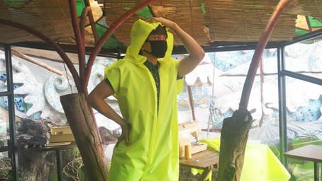 Baguio Artists, Nagtulong-tulong sa Paggawa ng PPEs para ng mga Basurero