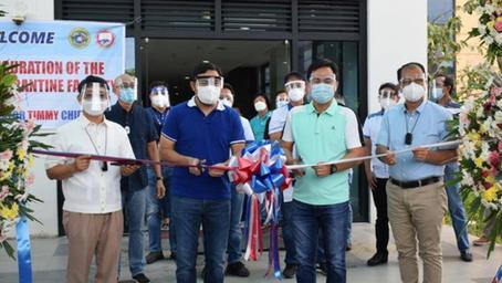 DPWH, Pormal nang Binuksan ang Mega Quarantine Facility sa Calamba, Laguna