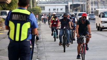Mandatoryong Pagsusuot ng Helmet ng mga Bicycle Riders, Ipapatupad sa QC