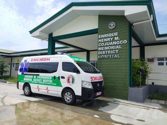 Naintindihan ni Rep. Cojuangco na pagdating sa kalusugan at emerhensiyang medikal, oras ay napakahalaga. Nagbigay and kanyang opisina ng ambulansya sa Enrique Henry M. Cojuangco Memorial District Hospital sa Moncada, Tarlac.