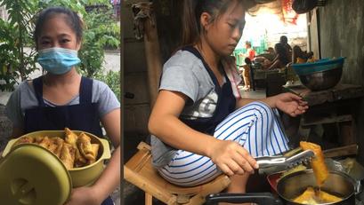 Estudyante, Naglalako ng Meryenda Upang may Pambili ng Cellphone sa Darating na Pasukan