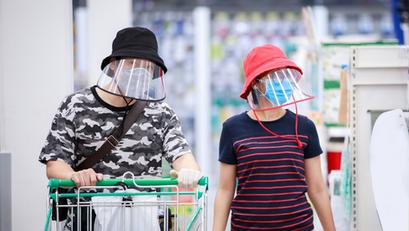 Face Shields, Kailangan na rin sa mga Supermarkets, Malls at Government Venues