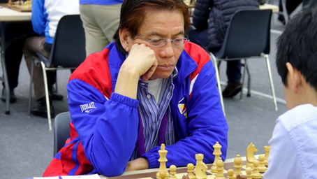 Legend Eugene Torre, First GM na Nagkaroon ng Goverment Pro Chess License