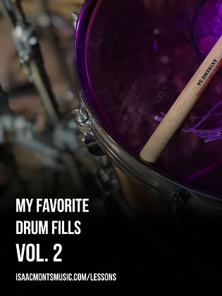 My Favorite Drum Fills: Vol 2