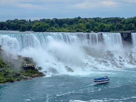 Home again but still enjoying Niagara Falls