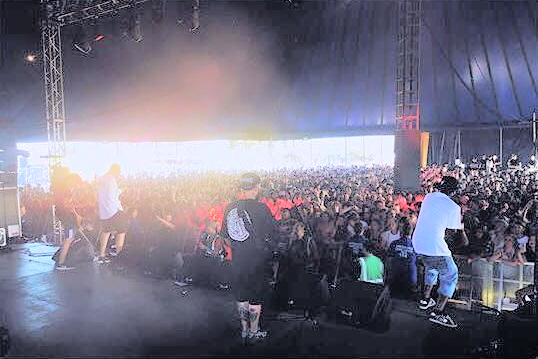 Hacktivist Band playing Leeds festival 2016