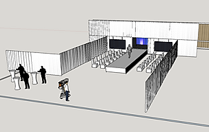 3D Visualisation for Corporate Events Planning London UK