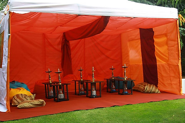 Pop up shisha tents for hire near London.