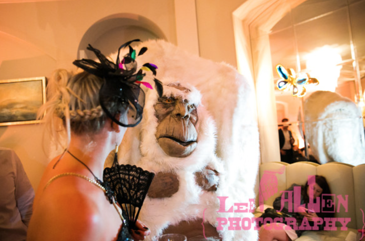 Yeti Walkabout Act for Weddings
