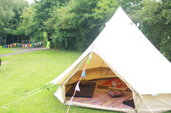 Hippie Yurts Hire for Luxury Party