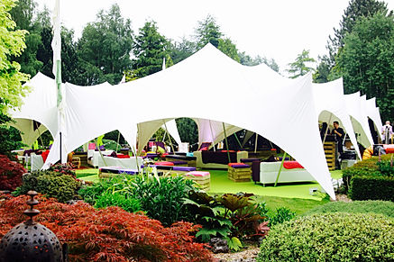 Private marquee party - Festival themed private party London UK