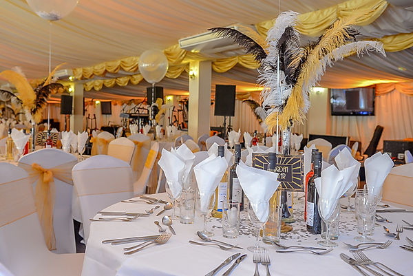 Art deco themed events for hire.