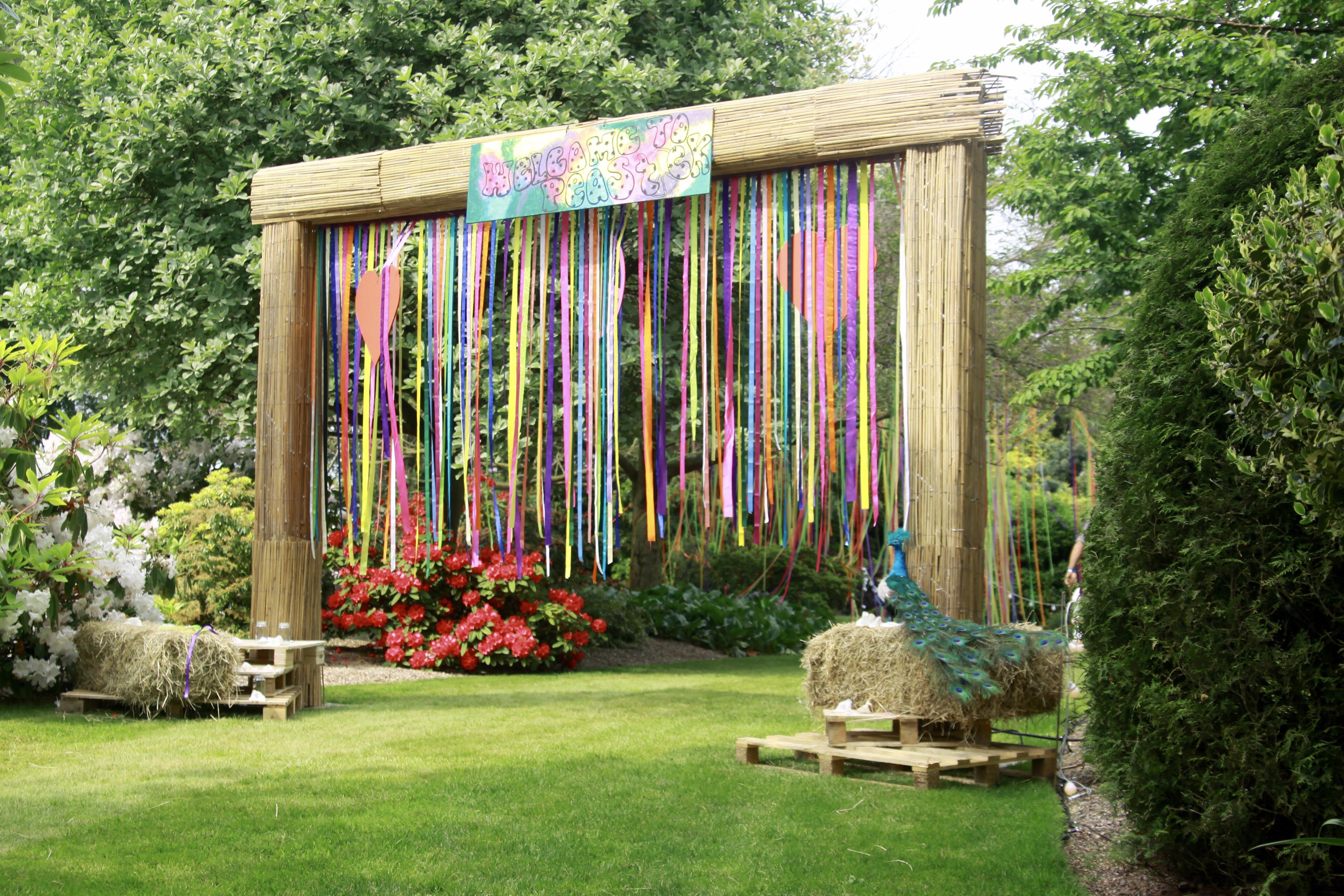 Creative Entrance Arch