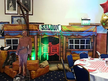 Themed production companies based in the UK for Wild West events.