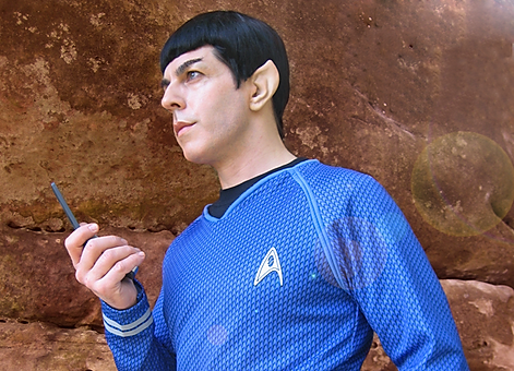 Star Trek themed entertainment and events for hire for weddings, birthdays and parties.