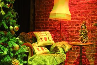 santa groto for kids party