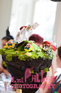 Bespoke Cakes for Themed Weddings