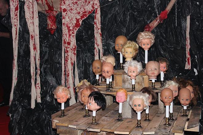 Bespoke Horror Decoration For Halloween Events London UK