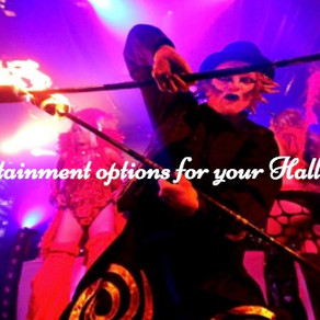 Top 10 Entertainment Options for your Halloween event!