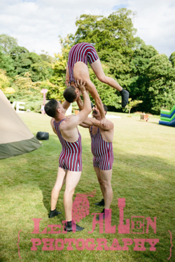 Vintage Circus Contortionist
