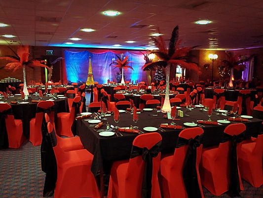 Table Centrepieces for Corporate Gala Dinners London UK