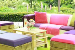 Pallet Furniture Hire Options