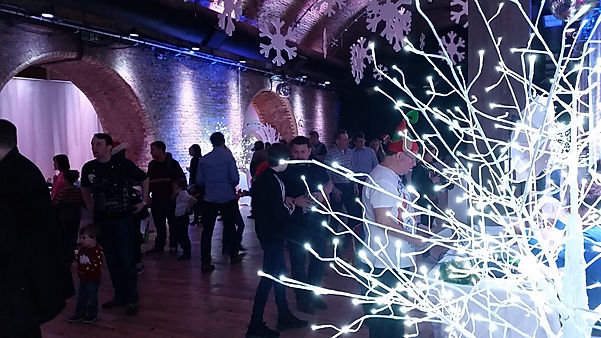 LED trees for hire for christmas events.