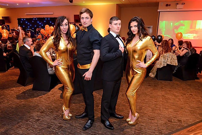 walkabout golden girls for hire. James Bond Characters available for hire.