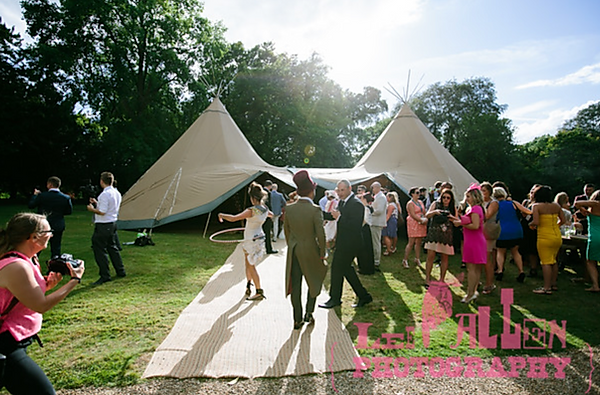 Outdoor summer marquees for hire for summer.