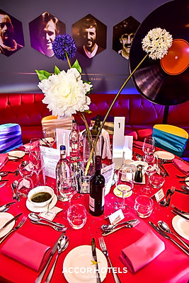 Themed event table dressing for hire.