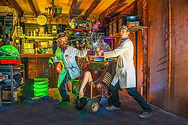Science shows for children's birthday parties and fun days.