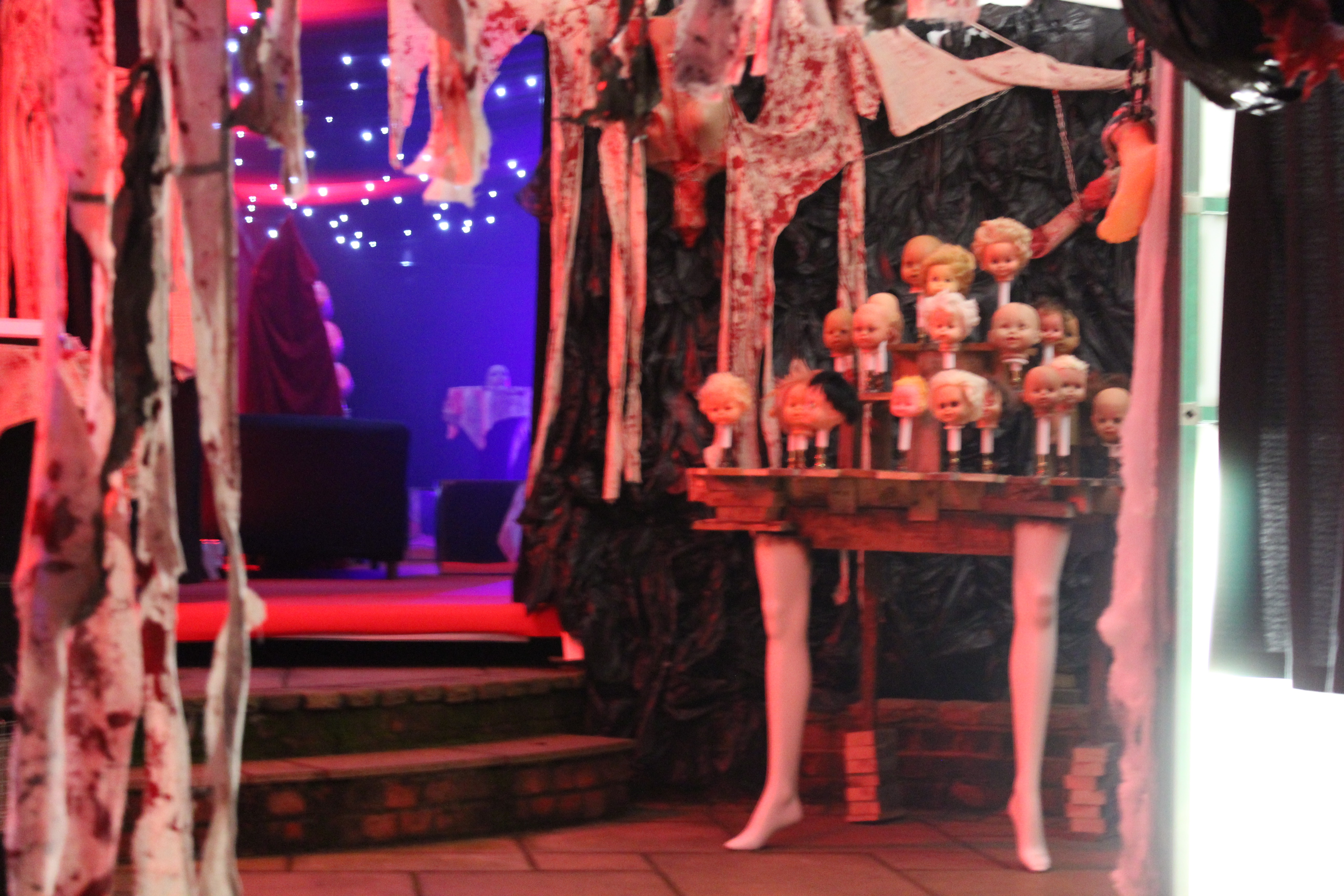 Bespoke Marquee Design for Halloween