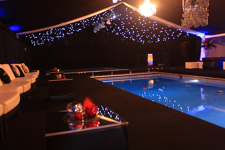 Bespoke Marquee Design for Luxury Birthday Party London UK