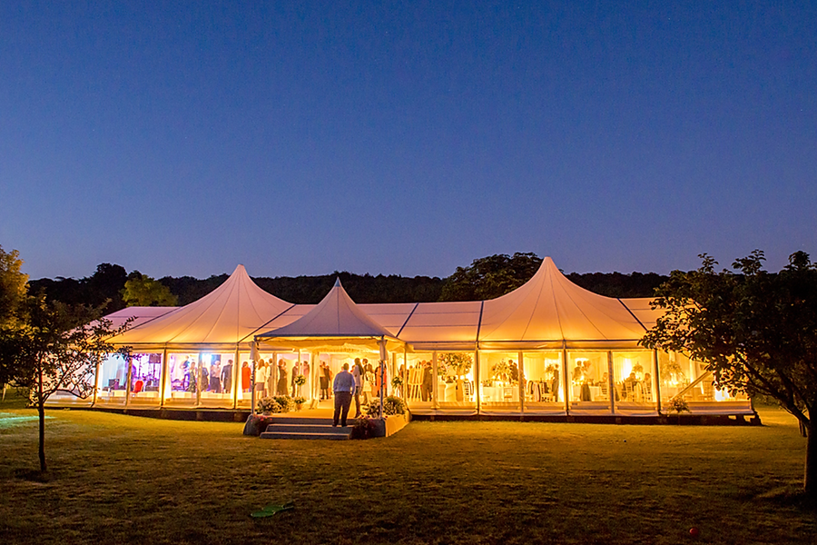 Luxury large marquee for hire for weddin