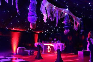 Custom Marquee Design for Luxury Halloween Events London UK