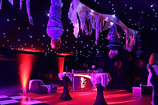 Custom Marquee Design for Luxury Halloween Events London UK