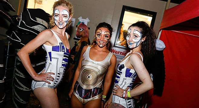 Star Wars event theming. Add a space and sci-fi theme into your next event.