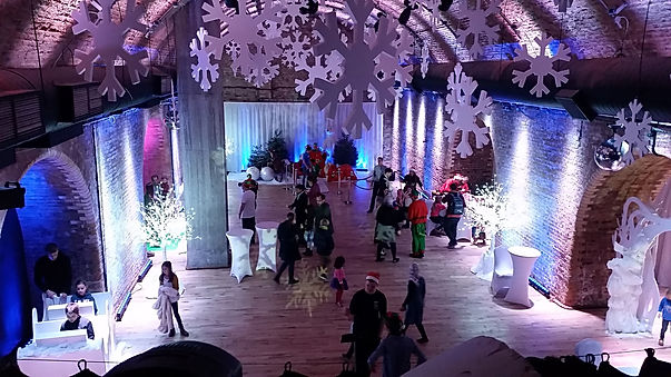 work christmas party planners for hire near London.